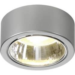 112284 CL 101 Ceiling light Energy saving bulb GX53 11 W Grey