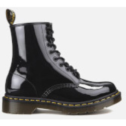 Dr. Martens Women's 1460 Patent Lamper 8 Eye Boots Black UK 3
