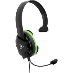 TURTLE BEACH Recon Chat Gaming Headset Black Green Black
