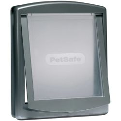 PetSafe 2 Way Pet Door 777 Large 35.6x30.5 cm Silver 5025