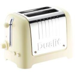 Dualit 26202 2 Slot Lite Toaster Cream Gloss