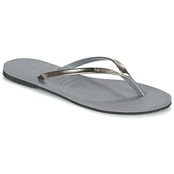 Havaianas YOU METALLIC women's Flip flops Sandals (Shoes) in Grey