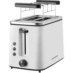 Grundig TA 5860 Toaster with home baking attachment White Black