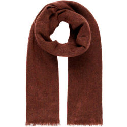 Y.A.S Soft Scarf Women Red