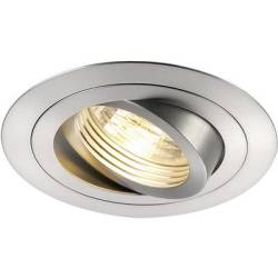 SLV 111360 New Tria Recess mount bracket HV halogen GU10 50 W Aluminium (brushed)