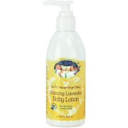 Earth Mama Angel Baby Calming Lavender Baby Lotion Moisturizing for Sensitiv...