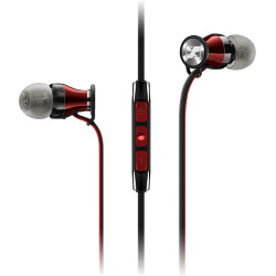 Sennheiser M2 IEi Momentum 2 In Ear Headphones For Apple Red