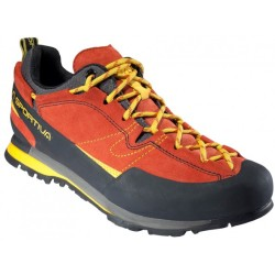 La Sportiva Boulder X Approach shoes size 46 5 black red