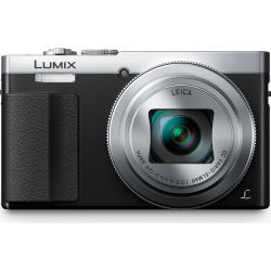 PANASONIC Lumix DMC TZ70EB S Superzoom Compact Camera Silver Silver