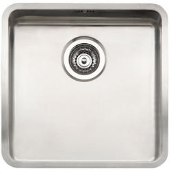 Reginox Ohio 40x40 Stainless Steel Sink Single Bowl with Waste Included