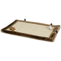Beeztees Cat Scratching Pad Wave 55x35 cm Brown 405718