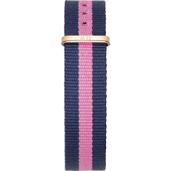 Daniel Wellington Winchester 17mm Rose Gold Plated Fabric Watch Strap 1052DW 17mm