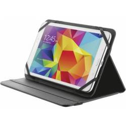 Tablet PC cover Trust Primo Folio Case Compatible with (tablet PC brand) universal 17 8 cm (7) 20 3 cm (8) Black