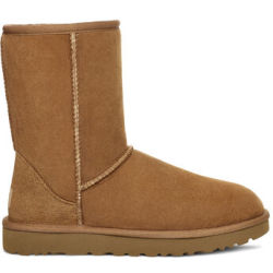 UGG Women's Classic Short II Boot in Chestnut Size 10 Shearling