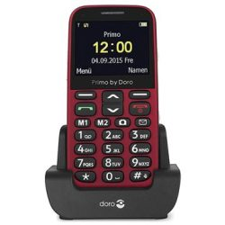 Doro Primo 366 0.3MP FM Radio Bluetooth Red