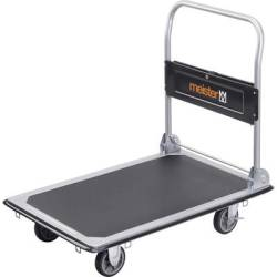 Meister Werkzeuge 8985540 Flatbed trolley folding compartment Steel Load capacity (max.) 300 kg