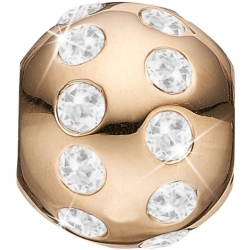 Ladies Christina Gold Plated Sterling Silver Goals in Life Bead Charm 623 G24