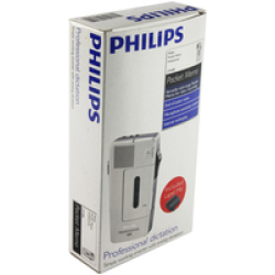 Philips Pocket Memo 488 Analogue dictaphone Silver