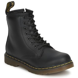 Dr Martens Dm J Boot boys's Children's Mid Boots in Black