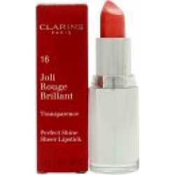 Clarins Joli Rouge Brilliant Perfect Shine Sheer Lipstick 3.5g 03 Pink Coral