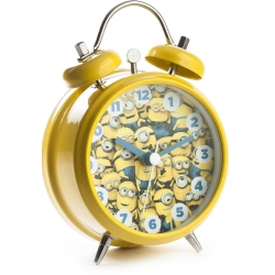Character Minions Twinbell Alarm Watch MNS5