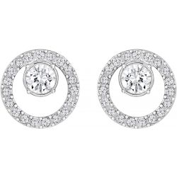SWAROVSKI Creativity Circle Small Pierced Earrings