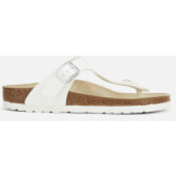 Birkenstock Women's Gizeh Toe Post Sandals White EU 35 UK 2.5