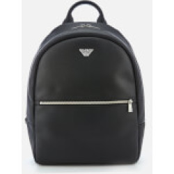 Emporio Armani Backpack for Men On Sale Black Leather 2019 one size