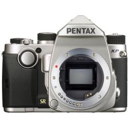 Pentax KP Digital SLR Camera Body Silver