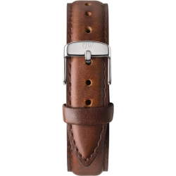 Daniel Wellington St Mawes 17mm Stainless Steel Leather Watch Strap 1060DW 17mm