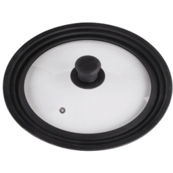 Xavax Universal Lid with Steam Vent for Pots and Pans 24 26 28 cm glass