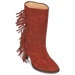 MySuelly GAD women's High Boots in Brown