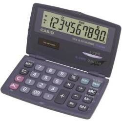 Casio SL 210TE Pocket calculator Anthracite Display (digits) 10 solar powered battery powered (W x H x D) 120 x 12.5 x 73 mm