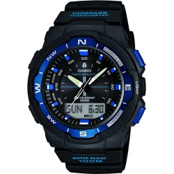Mens Casio Sports Gear Compass Thermometer Alarm Chronograph Watch SGW 500H 2BVER