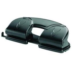 Rexel V412 4 Hole Punch Black 12 Sheet Capacity 08309