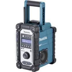 Makita DMR110 Workplace radio DAB FM AUX splashproof Black Turquoise
