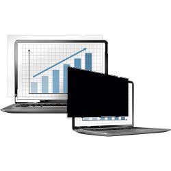 Fellowes Blackour Privacy Filter Widescreen 24in 4801601