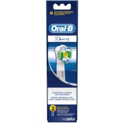 Oral B 3D White Advanced Cleaning amp Whitening 2 pcs