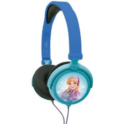 Lexibook Disney Frozen Foldable Stereo Headphones with Volume Limiter