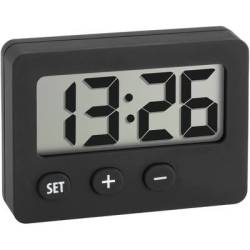 TFA Dostmann 60 2013 01 Quartz Desk clock Black