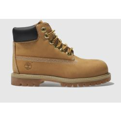 Timberland Natural 6in Premium Boots Toddler
