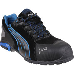 Puma Mens Safety Rio Low Safety Boots Black Size 8