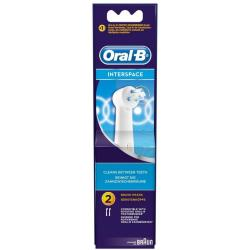 Pack of 2 Oral B Interspace Toothbrush Heads