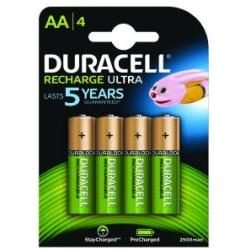 Duracell Stay Charged Battery Long life Rechargeable 2500mAh AA Size