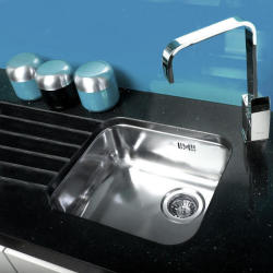 Reginox L18 4035 OKG Integrated Stainless Steel Single Bowl Kitchen Sink with Waste Included