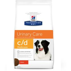 Hills Prescription Diet CD Multicare Urinary Care Chicken Dry Dog Food 12kg