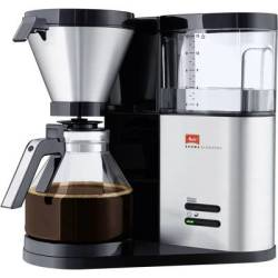 Melitta Aroma Elegance 1012 01 Coffee maker Stainless steel (brushed) Black Cup volume 10