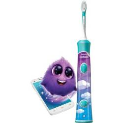 Electric toothbrush (children) Philips Sonicare HX6322 04 for Kids Sonic toothbrush White Multi coloured