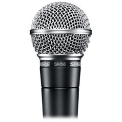 Shure SM58 Dynamic Vocal Microphone XLR 3 Pin