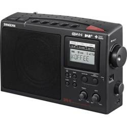 Sangean DPR 45 Portable radio DAB FM AM Black